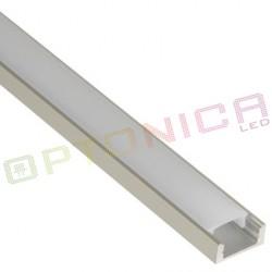 Aliuminio profilis 6 mm LED juostelei
