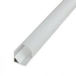 Aliuminio profilis 18 mm LED juostelei - Kampas