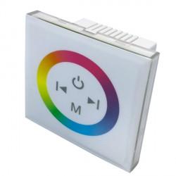 RGB sensorinis (jutiklinis) valdiklis, 85*85*35 mm,  sieninis baltas
