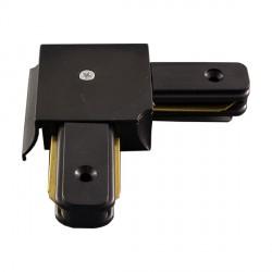 Jungtis juoda 79*16 mm, kampas bėginės sistemos linijai