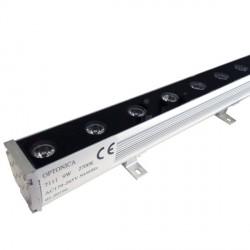 9 W  /  220 V   LED sieninis, 495*58*50 mm, Šilta balta šviesa, 0.5 m, IP65, EPISTAR