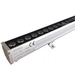 36 W  /  220 V   LED sieninis, 998*58*50 mm, Šilta balta šviesa, 1 m, IP65, EPISTAR