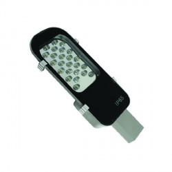 LED gatvės šviestuvas, 24W, 100-265 V, 402*349*65 mm, Balta šviesa