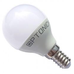 LED lemputė G45, 45*78 mm, E14,  6 W / 175-265 V,  240°, Balta šviesa