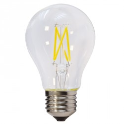 LED lemputė,  Ø60*106 mm,  A60, 4W, 400 LM, E27, 175-265 V, Balta šviesa