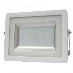 100W, LED SMD prožektorius, 334*255*53 mm, AC95-265V, 150°, IP65, Šilta balta šviesa