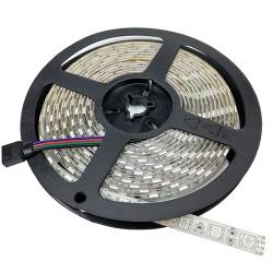 LED juostelė 5050, 60 SMD / m, RGB, 5000*10*2 mm, Neatspari drėgmei