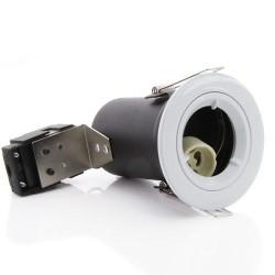 Priešgaisrinis užsifiksuojantis korpusas LED įleidžiamam GU10, IP20, Baltas