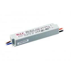 18W, LED maitinimo šaltinis, GPV-18-12, 12V, 1.5A,129.5*25*21 mm, GLP atsparus drėgmei, IP67