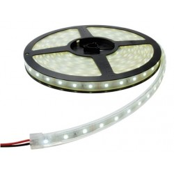 2835, LED juosta RFX815W-A, 8W/m, 30 SMD / m, 12V, Atspari drėgmei - IP67, Balta šviesa (6000K)