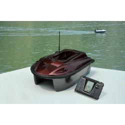 Išmanusis nuotolinio valdymo žuvų jaukinimo laivelis  RYH-001D su kompasu, GPS, žuvų ieškikliu