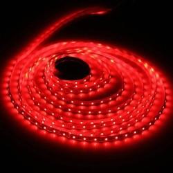 5m ritė, 2835, LED juosta RFX815R-A, 8W / m, 30 SMD / m, 12V, Atspari drėgmei, Raudona šviesa