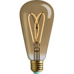 4W LED lemputė, E27  ST64, 230V, 2000K, WHIRLY WILLIS
