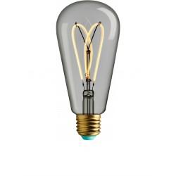 4W LED lemputė, E27  ST64, 230V, 2700K,  WHIRLY  WILLIS