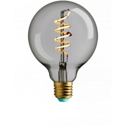4W LED lemputė, E27  G95, 230V, 2700K, WHIRLY  WYATT