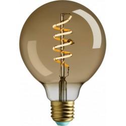 4W LED lemputė, E27  G95, 230V, 2000K, WHIRLY  WYATT